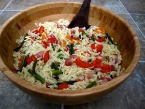 Orzo Veggie Salad